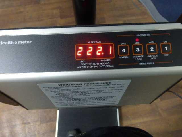 Health-O-Meter 2101KLS STANDING DIGITAL SCALE - NWS Medical Scientific